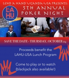 Lend a Hand Uganda-USA Joins Forces with ARCHIVE Global to Host Its 5th Annual Poker Tournament