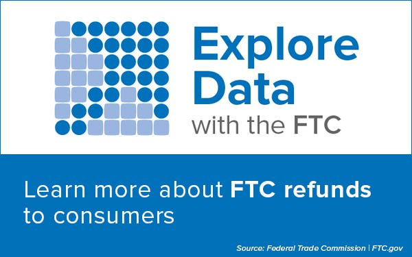 Explore Data: Learn more about FTC Refunds
