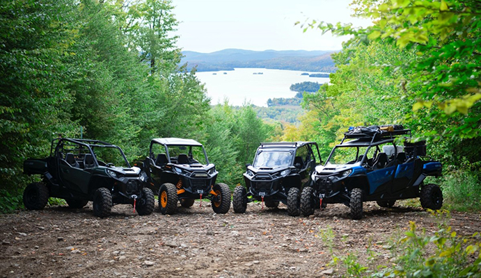 The 2021 Can-Am Commander lineup provides an ideal mix of performance and capability for play and work.