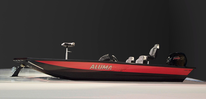2022 Alumacraft PRO Series boats are optimized for anglers to get the most of their time on the water. ©BRP 2021