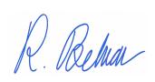 Rostin Behnam signature